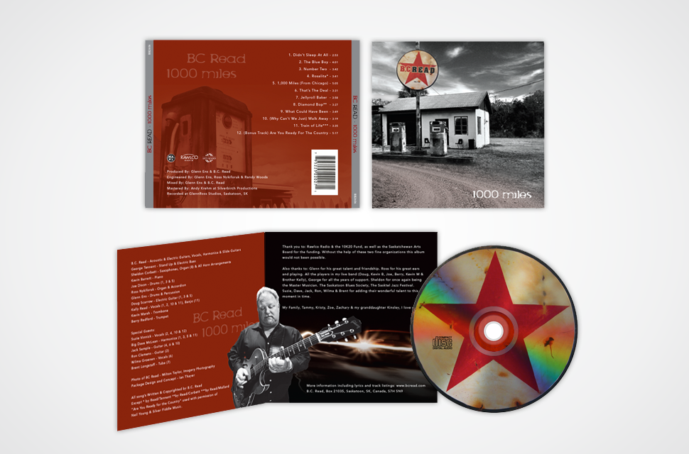 BC Read CD Packaging Design
