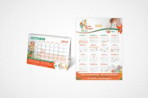 Prairie Oxygen Desk and Wall Calendars
