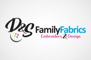 D&S Family Fabrics Logo