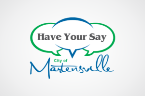 Have Your Say Martensville logo