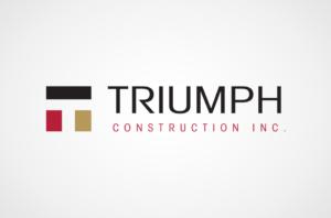 Triumph Construction logo