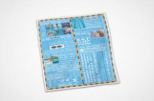 Custom Swimming Towel Design
