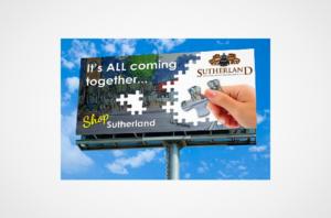 Sutherland BID BIllboard Design