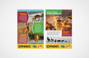 Saskatoon Zoo Interpretive signs - Dingos
