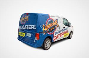 Fuddruckers Catering Van Design