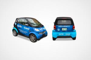 Marlin Travel Smart Car Wrap