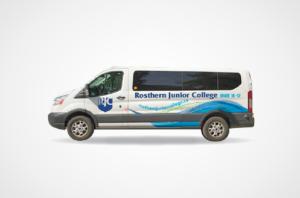 Rosthern Junior College Van Wrap