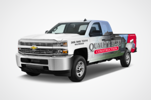 Quality Plus Truck Wrap Design