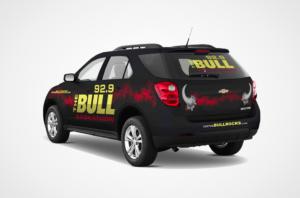 92.9 The Bull SUV Wrap Design