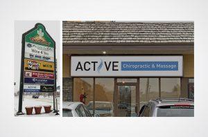 Active Chiropractic Signs