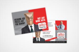 Postcard Alto Hearing