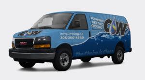 Vehicle Wrap - CW Plumbing
