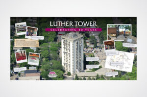 Luther Tower Backdrop