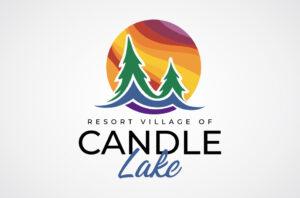 Candle Lake Logo Design