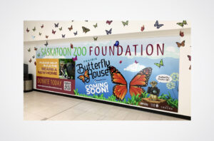 Saskatoon Zoo Wall Mural